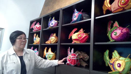賽馬會鯉魚門創意館館長高寶怡希望政府給予館方多些支援。