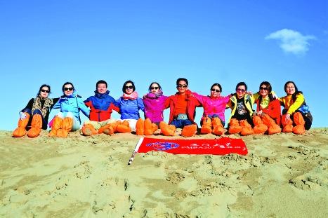 和廈門大學EMBA同學一起重走玄奘路,穿越戈壁沙漠