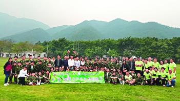 東聯積極為不同年齡層市民舉辦活動,圖為粵港澳學生四會春耕體驗營