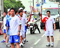 高禮澤曾擔任2008年北京奧運會香港站火炬手