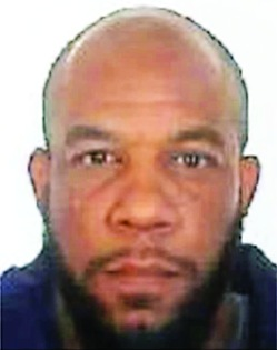 This is an undated photo released by the Metropolitan Police of Khalid Masood. Authorities identified Masood, a 52-year-old Briton as the man who mowed down pedestrians and stabbed a policeman to death outside Parliament in London, saying he had a long criminal record and once was investigated for extremism — but was not currently on a terrorism watch list. (Metropolitan Police via AP)