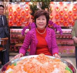 孫愛蘭在富麗華珠寶金行服務超過30年。