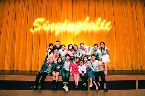 台前幕後團結一心,成就好戲