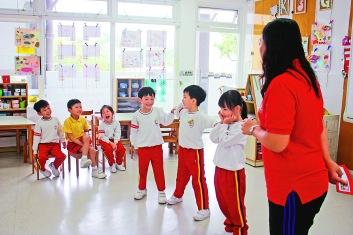 ▲「戲劇教學」能讓孩子更開心投入學習