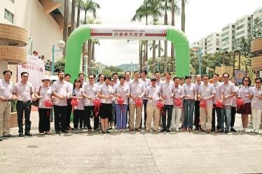 ▲九龍城區慶祝香港特區成立二十周年古董車大巡遊