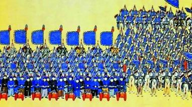 ▲周朝起就有很完整的兵馬制度