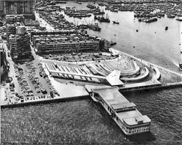 ▲1970年代的大角咀碼頭
