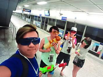 ▲William認為泰國多姿多彩的活動適合他貪玩的個性