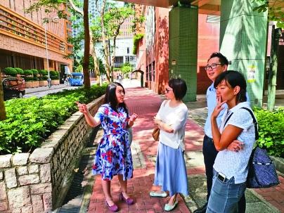 ▲除教育外,鄭曉玲也很關心民生、環境的發展